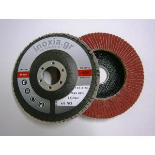 FLAP DISCS CONICAL ZIRCONIUM